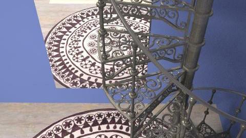 Rangoli Stairwell - Feminine - Conservatory - by Brentalicious