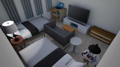 bedroom - Modern - Bedroom - by josephesteve