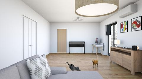 My living room - Living room - by Freditane
