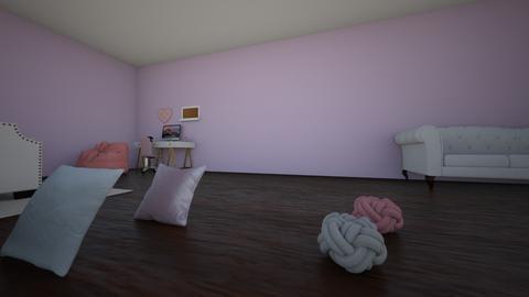 chicken fingers - Bedroom - by archandsof