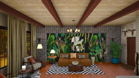 Jungle - Dining room - by Tara T
