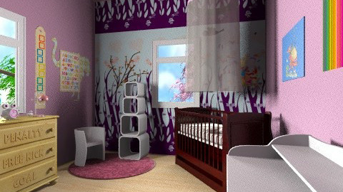 Baby room - Vintage - Kids room - by Designerloft
