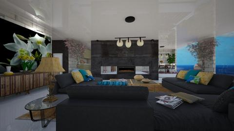 winter_day - Eclectic - Living room - by nanabpf