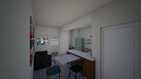 BHapc - Kitchen - by jupitervasconcelos