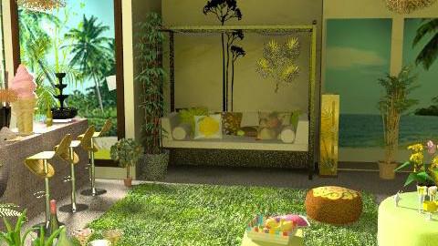 Natural - Living room - by szalaiedit