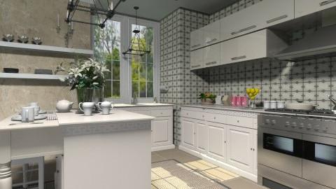 Small kitchen - Classic - Kitchen - by XValidze