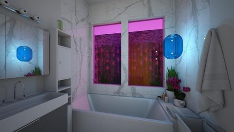 modern marble - Modern - Bathroom - by katsumi1016