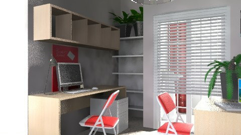 office2 - Modern - Office - by chania