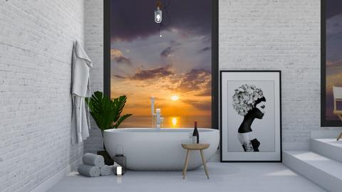 Bathroom with a view - by Pilane