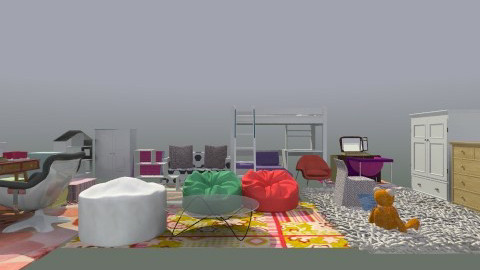 My Dream Room - Modern - Kids room - by Freesia Tokunaga