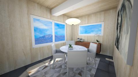 DWR Pearson Dining - Dining room - by mikaelawilkins