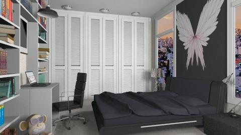 Teen Bedroom_ - Bedroom - by _Taz_