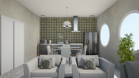 Gray - Modern - Living room - by Debora Cris