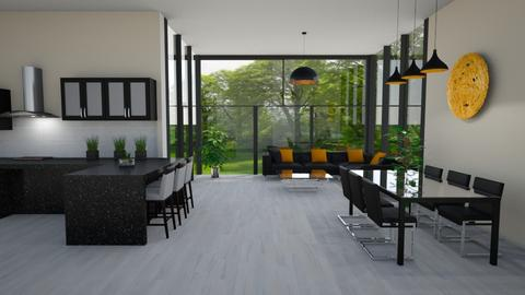 MADSEN template - Living room - by Phospective