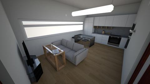 dream house  - Modern - Kitchen - by SebasCZ2002