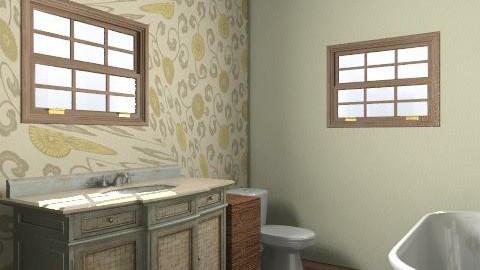 Laura Porter - Vintage - Bathroom - by phatpiggy13
