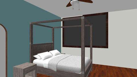 Proposed Bedroom - Bedroom - by MariposaYhet
