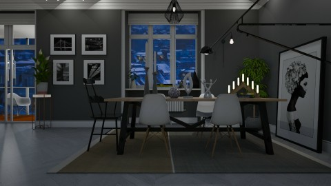 Scandinavian Apartment - by katarina_petakovi