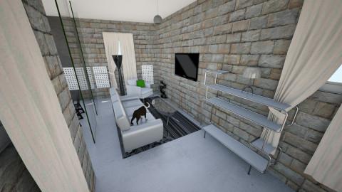 Ashr  living room - Modern - Living room - by kristinahrvoic