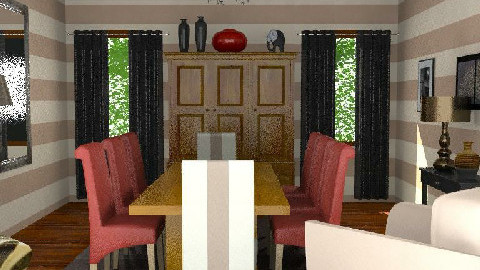 Stripes!!! - Dining Room - by tingo