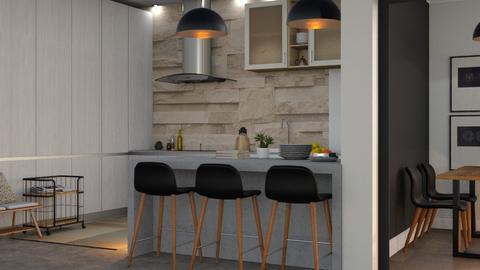 Modern kitchen - by Brielaaa