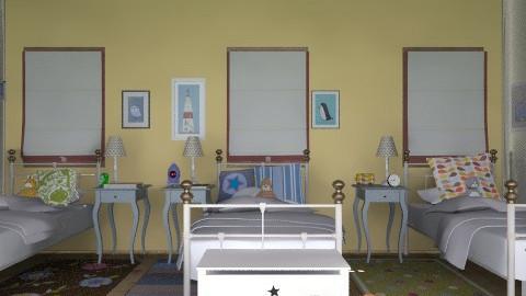 triplets room - Kids room - by bethris