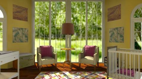 baby room - Feminine - Kids room - by dancergirl1243