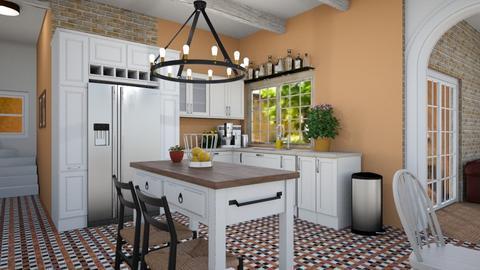 southwestern kitchen - Kitchen - by alparensie