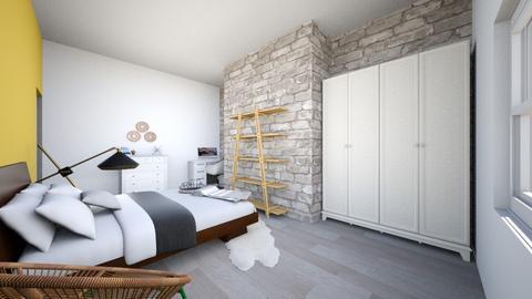small simplistic bedroom - Vintage - Bedroom - by candycaneame
