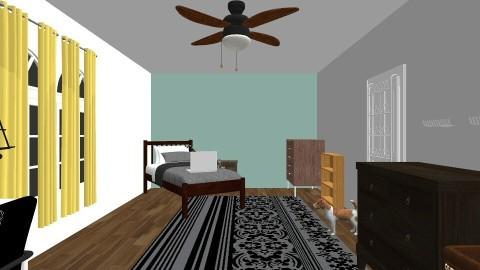 my real room - Classic - Bedroom - by nicolebevan