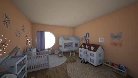 Nursery - Kids room - by cswncreate