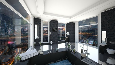City View Bathroom V2 - Modern - Bathroom - by Sophia Cooper