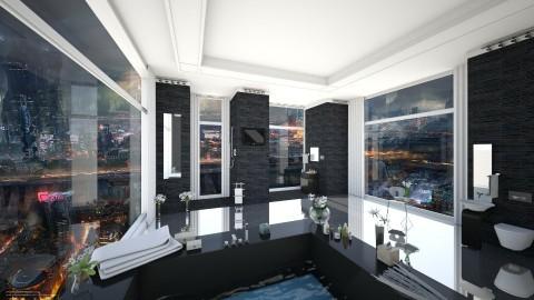 City View Bathroom V2 - Modern - Bathroom - by Sophia Cooper
