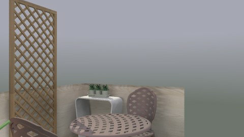 Balcony (nr kitchen) - TB - Eclectic - Garden - by Noelle Woods