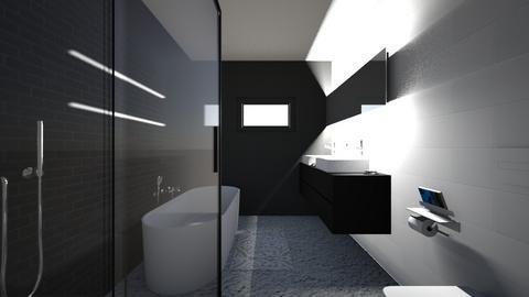 kopalnica prava - Bathroom - by artizanka