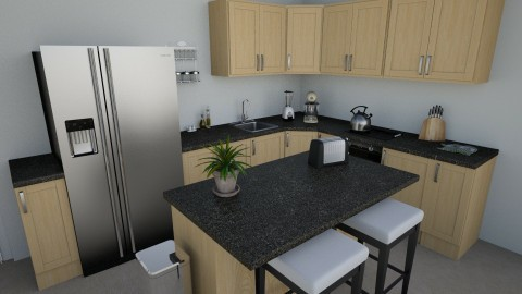 Apartment Kitchen - Classic - Kitchen - by millerfam