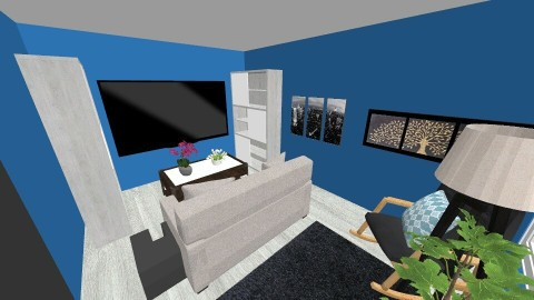 Improved Living Room - Living room - by schick5466
