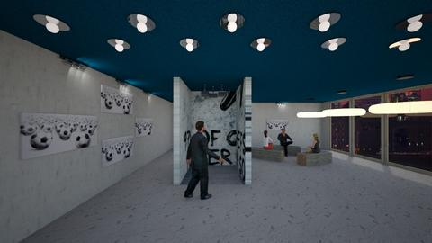 Brand launch mapped cube - Office - by Hoc13