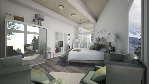 Lakenheath - Bedroom - by MoriartyIOU