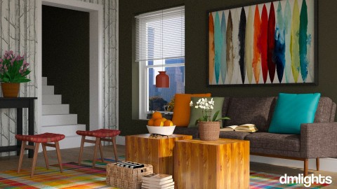 Woolgathering - Eclectic - Living room - by BrandonThibby