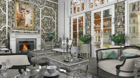 Automne au Petit Salon - Classic - Living room - by Bibiche