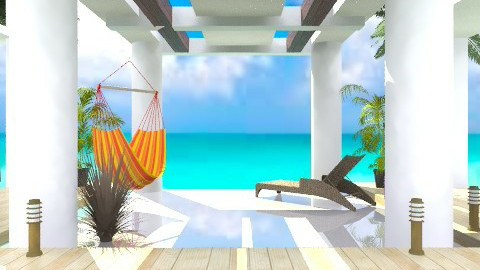 Beach House - Rustic - Garden - by Georgeanna Italy