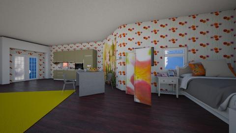 examplw - Feminine - Living room - by Megumi Fairay