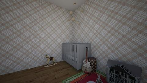 CHECKERED NURSERY - Modern - Kids room - by mylifeisgoood44