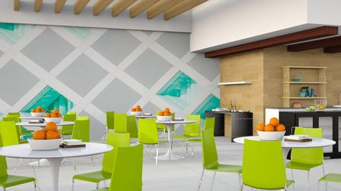 School Canteen - Modern - Dining room - by millerfam