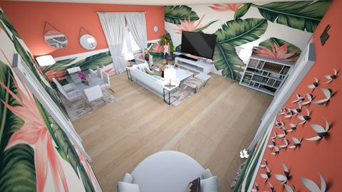 family home 130 - Modern - Living room - by Stavroula Chatzina