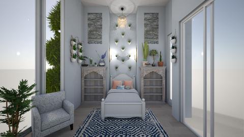 Garden Wonderland  - Rustic - Bedroom - by Avery McCaffrey