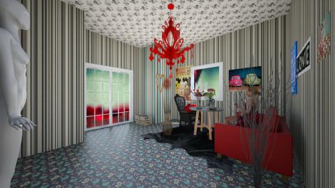 Retro times - Retro - Living room - by stauroula