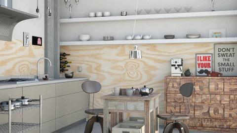 Factory chair  - Masculine - Kitchen - by Liu Kovac