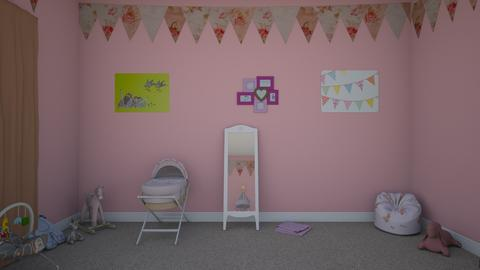Baby Girl Boho style - Retro - Kids room - by ashley0999